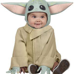 Star Wars Mandalorian The Child Baby Costume